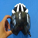 B845번] 이글 헬멧 (고글렌즈 달린 헬멧)
